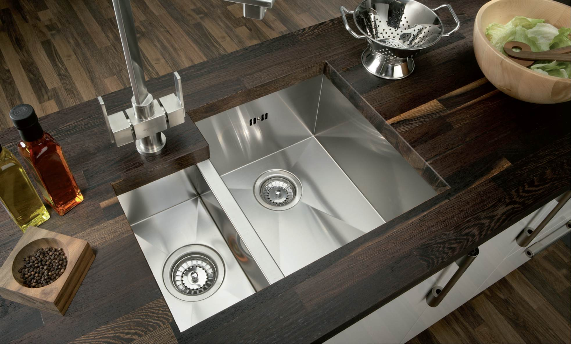 large undermount kitchen sinks kitchen sinks woodworx mauritius 6822